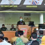 Pangdam XIV dan PJ Wali Kota Makassar Komitmen Untuk Putus Rantai Covid