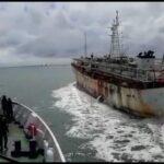 Tim Gabungan Amankan Kapal Ikan China, Satu ABK WNI Ditemukan Meninggal Dunia